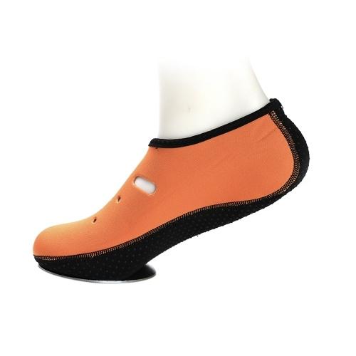 1 Paar Anti-Rutsch-Wasser-Schuhe Slipper schnell trocknend Barfuß Tauchen Socken Strand Schnorcheln Schwimmen Surfen Socken