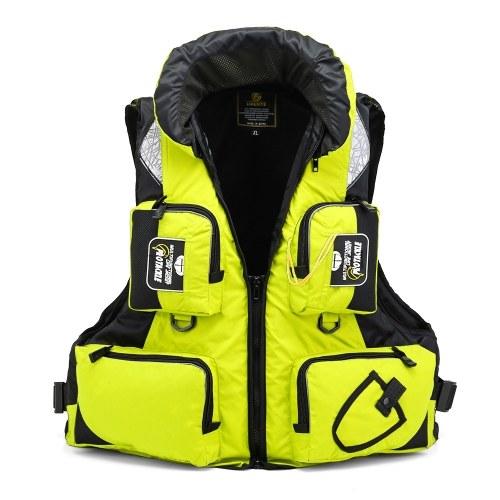 Portable Multi-Function Waterproof Fishing Life Jacket Vest