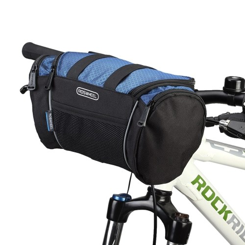 Bike Handlebar Bag MTB Riding Cycling Bicycle Front Tube Basket Pack Shoulder Bag Image