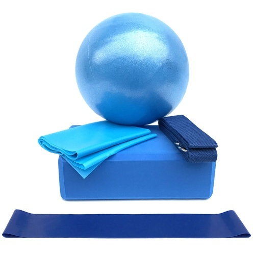 5pcs conjunto de equipamentos de ioga