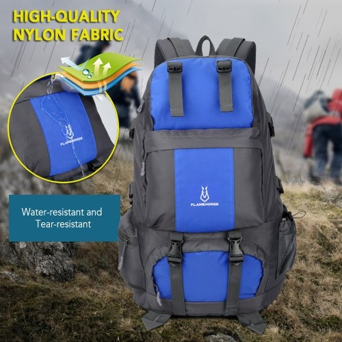 50L Hiking Backpack Waterproof Outdoor Sport Travel Daypack Bag