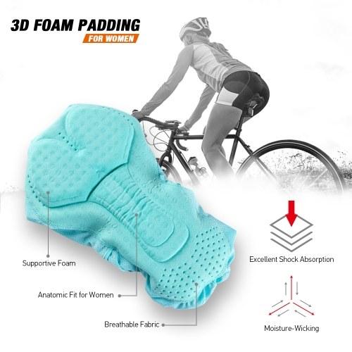 Image of Frauen Radfahren Unterwäsche 3D Gepolsterte Atmungsaktives Mesh MTB Fahrradfahren Radfahren Unterwäsche Shorts