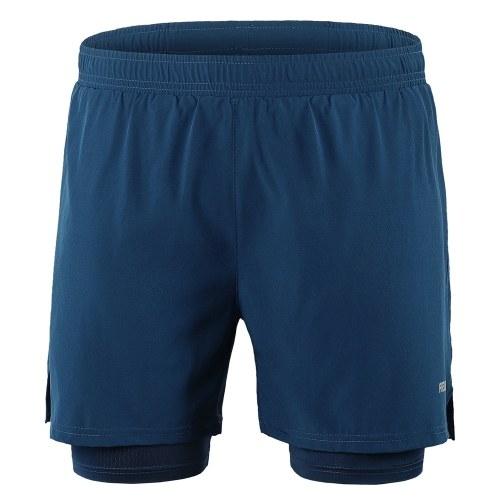 Men 2 in 1 Running Shorts Image
