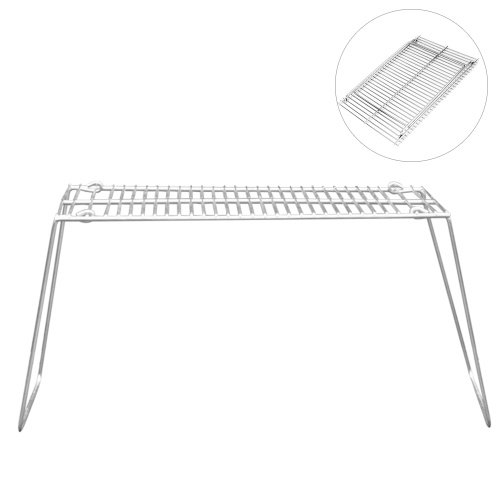 Outdoor tragbare faltbare Holzkohle BBQ Grill Edelstahl