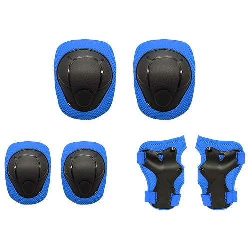 Kids Knee Pads Set 6 in 1 Protective Gear Kit фото
