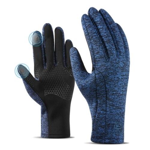 Зимние теплые перчатки Мужчины Женщины Перчатки с сенсорным экраном фото
