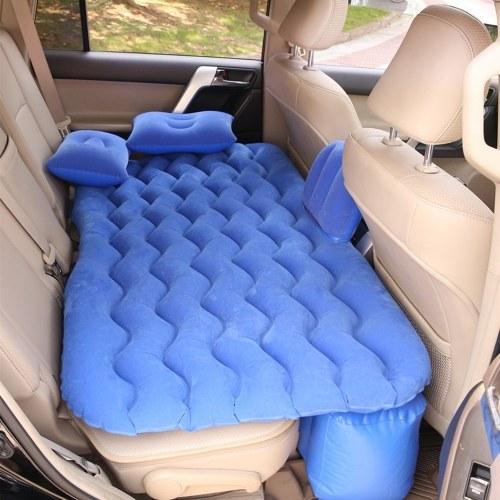 Auto aufblasbare Bettluftmatratze Universal Autositzbett Outdoor Camping Isomatte Kissenmatte mit 2 Luftkissen
