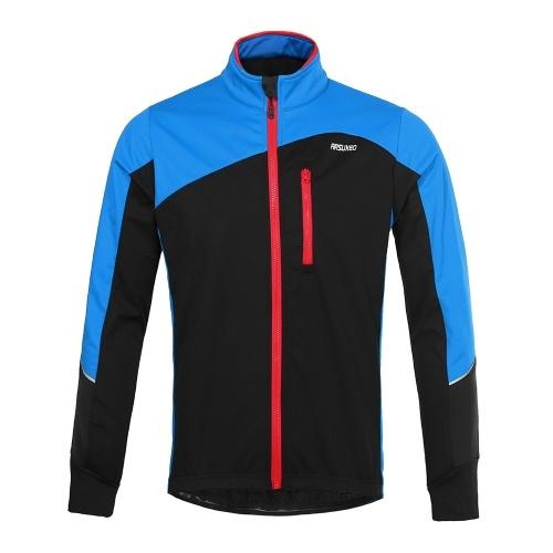 Men Cycling Jacket Windproof Breathable Long Sleeve