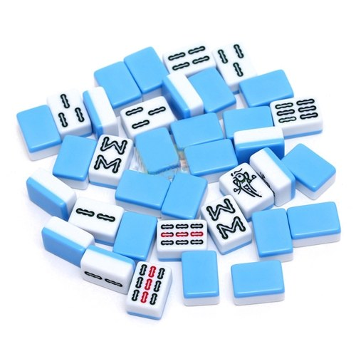 24mm Portable Mini Mahjong Set