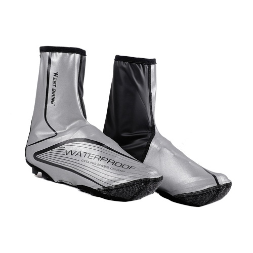 Cycling Shoes Cover MTB Road Bike Night Reflective Overshoes