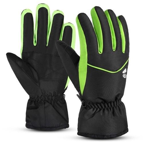 Мужчины Женщины Лыжные перчатки Водонепроницаемые дышащие уличные зимние теплые зимние спортивные перчатки для сноуборда