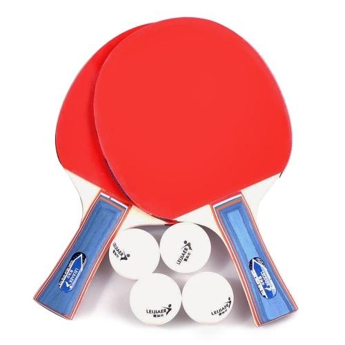 Настольный теннис 2 Player Set 2 ракетки для ракеток для настольного тенниса фото