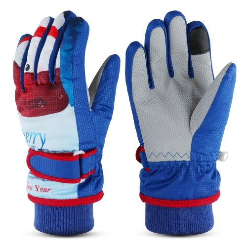 Enfants hiver gants chauds enfants