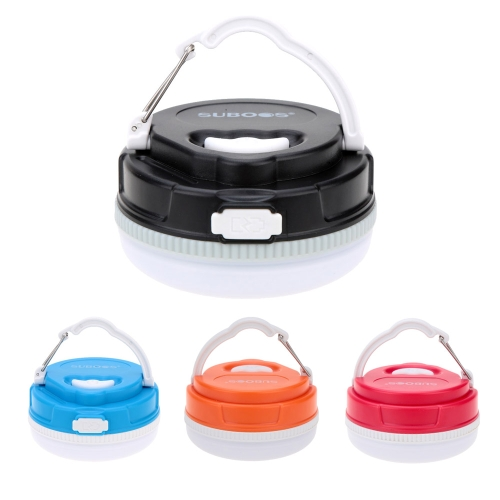 USB Rechargeable Outdoor Camping Lantern Super Bright 5 LED Light Campsite Hanging Emergency Lamp
