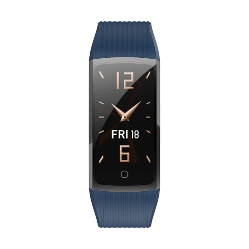 R12 Fashion Silica Gel TPU Intelligent Sport Bracelet USB Charge BT Step Counting Waterproof Heart Rate Monitoring Bracelet
