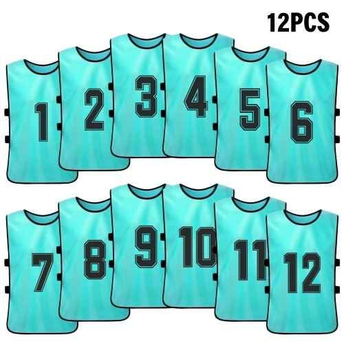 Basketball Team Training Numbered Bibs Practice Sports Vest