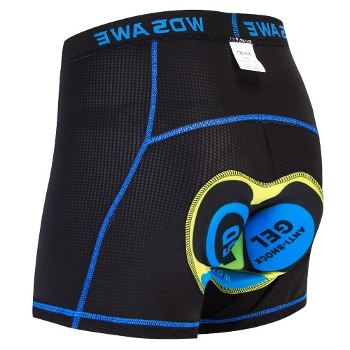 Men Cycling Underwear Shorts Lightweight Breathable Gel Padded MTB Biking Riding Shorts Image