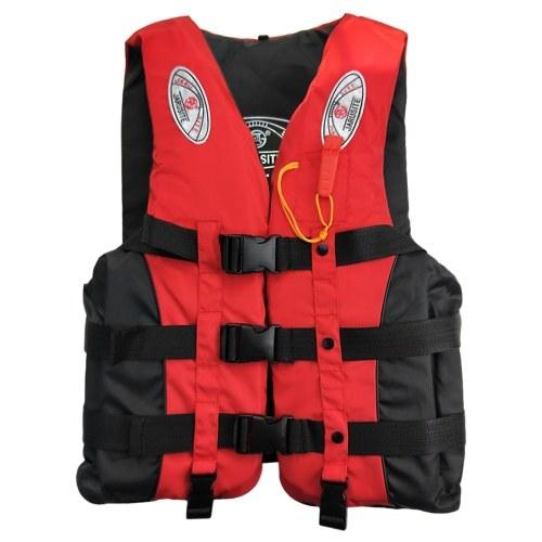 Colete salva-vidas de pesca Esportes aquáticos Colete flutuante Adultos Crianças Colete flutuabilidade