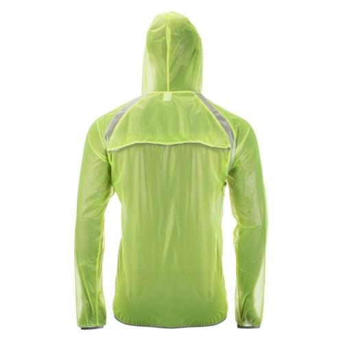 Veste de cyclisme imperméable Manteau coupe-vent pour vélo de pluie