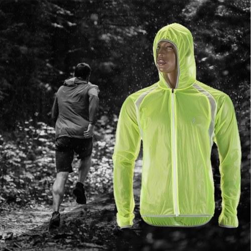 Waterproof Cycling Jacket Rainproof MTB Bike Wind Coat