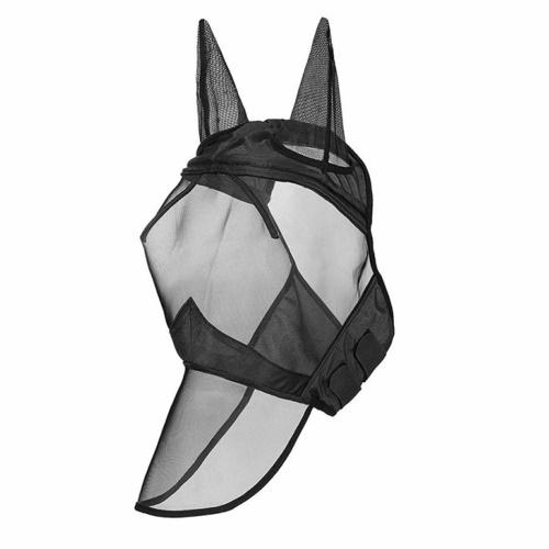 Дышащая сетчатая маска от мух с носом для ушей для лошади / початка