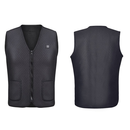 Heat Vest Jacket Winter Flexible Electric Thermal Waistcoat