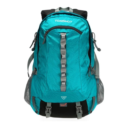 TOMSHOO 40L deporte al aire libre Senderismo Trekking Mochila Bolsa de camping Travel Pack Montañismo Escalada mochila con cubierta de la lluvia