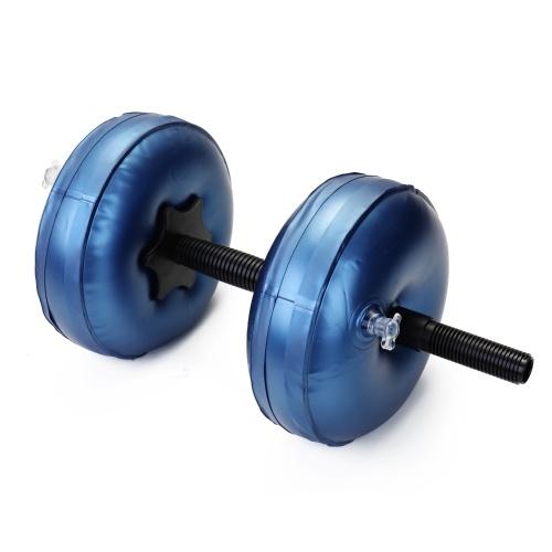Flexible Fitness Wassergefüllte Hantel Heavey Gewicht Hantel Fitnessstudio Heimtrainingsgeräte Bodybuilding Training Tool