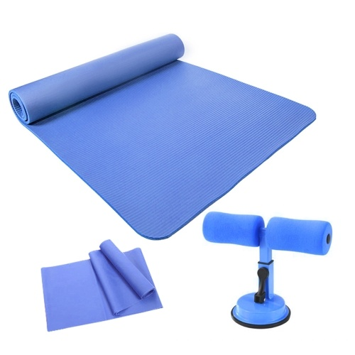 Eco-friendly and Tasteless Yoga Practice Mat with Sit-up Assistant Device