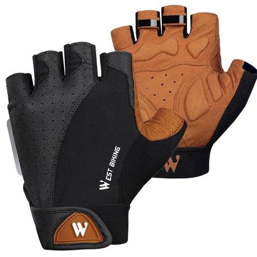 WEST BIKING Half Finger Cycling Gloves Image