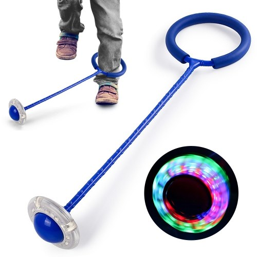 Ankle Flashing Skip Ball Swing Ball Jumping Ball Dancing Ball Toy Ball Sports Ball Exercise Accessory Fitness Equipment for Children and Adult
