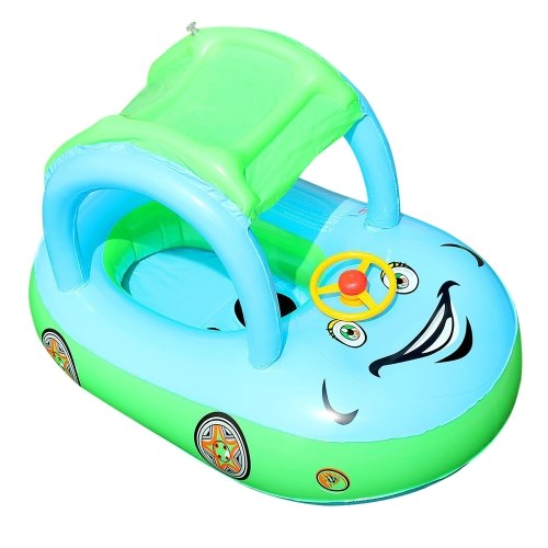 Inflatable Float Seat Sunshade Baby Swimming  Circle