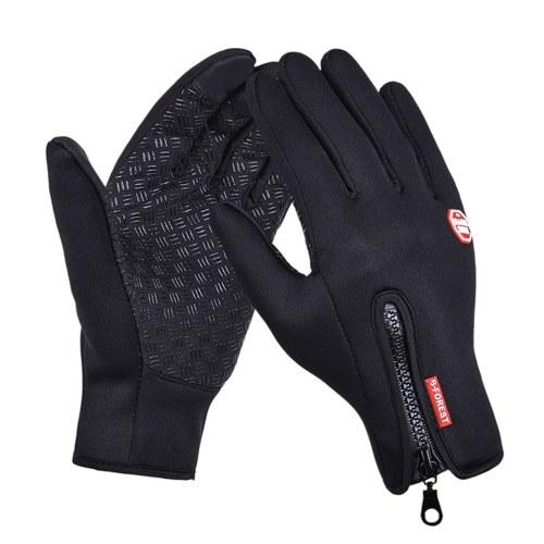 Kyncilor Handschuh Outdoor Winter Warme rutschfeste Touchscreen-Handschuhe für Sportfahrräder