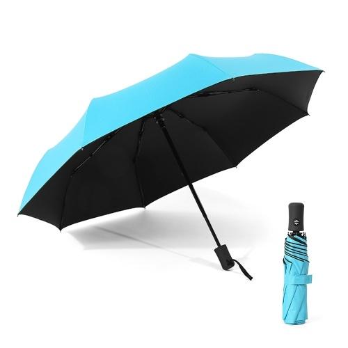 Paraguas automático de apertura / cierre Paraguas compacto para sol y lluvia