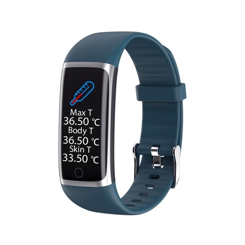 M9 3D Colorful Screen Real Time Body Temperature Smart Bracelet Fitness Tracker Smart Fitness Watch