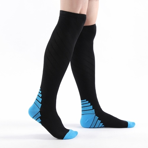 Compression Socks for Women Men Athletic Cycling Running Ski Sports Traveling Over the Calf