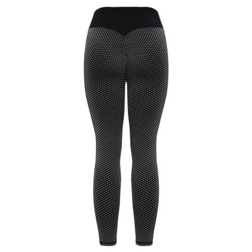 Women Yoga Leggings High Waist Bodycon Seamless Spliced Running Gym Exercise Fitness Pants Sportswear