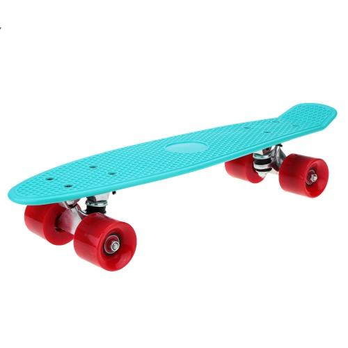22 «легкий полный пластиковые скейтборд