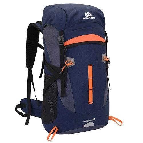 50 L Outdoor Sport Backpack Waterproof Mountaineering Backpack Large Capacity Sports Vest Ultralight Riding Bag Women Men Breathable Jogging Sport Backpack