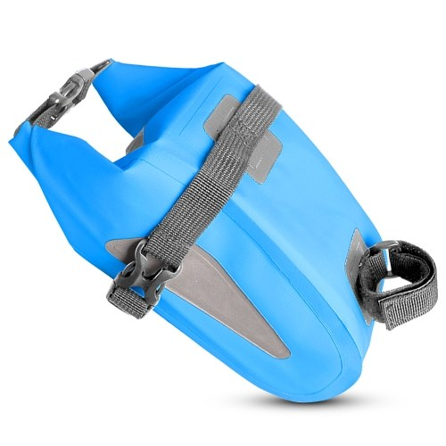 Waterproof Bicycle Bag Reflective Cycling Rear Seat Post Bag Image