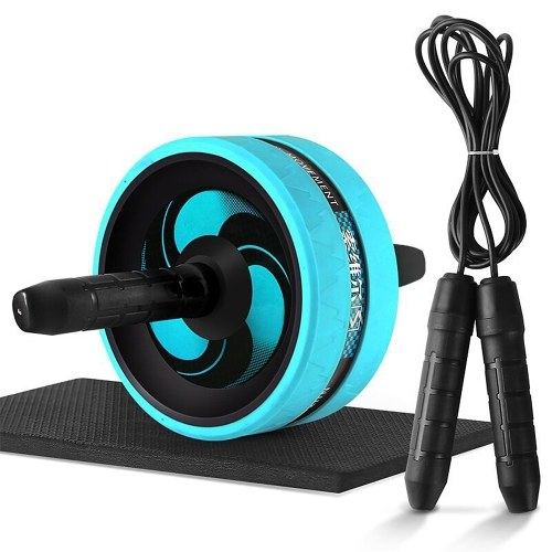 Abdominal Roller with Knee Pad Adjustable Jump Rope