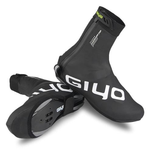 Водонепроницаемые чехлы для велосипедной обуви из полиуретана со светоотражающим дизайном, мужские и женские многоразовые тепловые чехлы для велосипедной обуви MTB