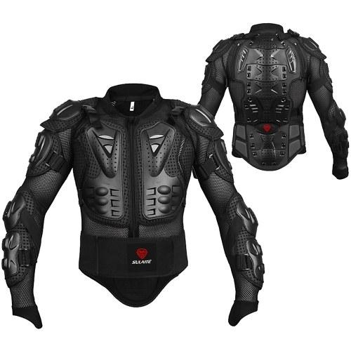 Chaqueta protectora de motocicleta para hombres Sport MTB Racing Arm Chest Spine Protector de cuerpo completo Armor