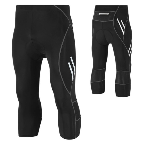 Men's Compression Pants Leggings Tights Sweat Wicking Fabric Runing Cycling