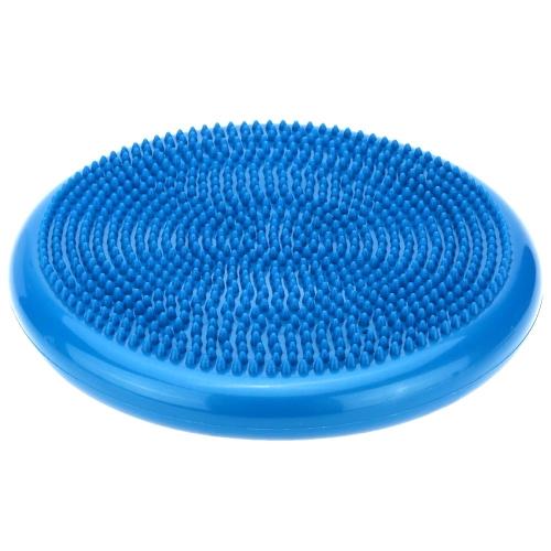 Inflatable Yoga Mat Massage Balance Cushion Disc Movement Fitness Exercises Pad