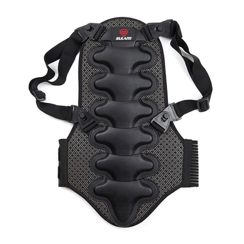 Motorrad-Rückenschutz Abnehmbares dickes EVA-Schutz-Rückenpolster für Motorradfahren Mountainbiken Skaten Skifahren