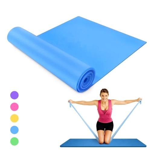 59 X 5,9 дюймов, эспандер для йоги, эластичный браслет для тренировок, для физиотерапии, фитнеса, пилатеса