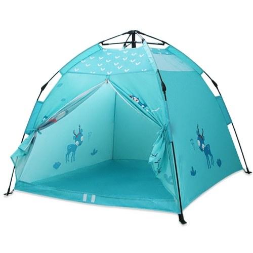 Tragbares Kinderzelt Spielhaus Faltbares Campingzelt Indoor Outdoor Kinderzelt für Jungen Mädchen