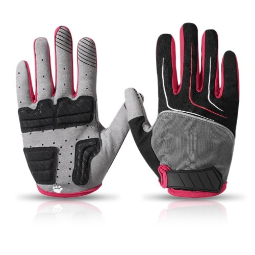Outdoor Bicycle Gloves Breathable Cycling Gloves Anti-slip Sports Gloves Motorcycle Anti-shock Gloves Image