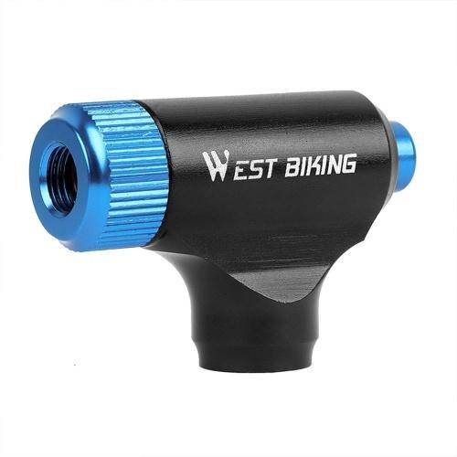 Mini bomba de inflador de CO2 para bicicleta Inflação de pneus super rápida Bomba portátil de bicicleta Liga de alumínio Tubo de pneu de alta pressão Bomba manual de inflador de bicicleta Bomba de pneu de bicicleta Insuflador de ar de ciclismo Acessórios de mountain bike para bomba de bicicleta MTB